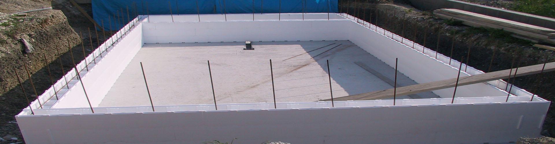 Styroporstein Set - versch. Poolgrößen
