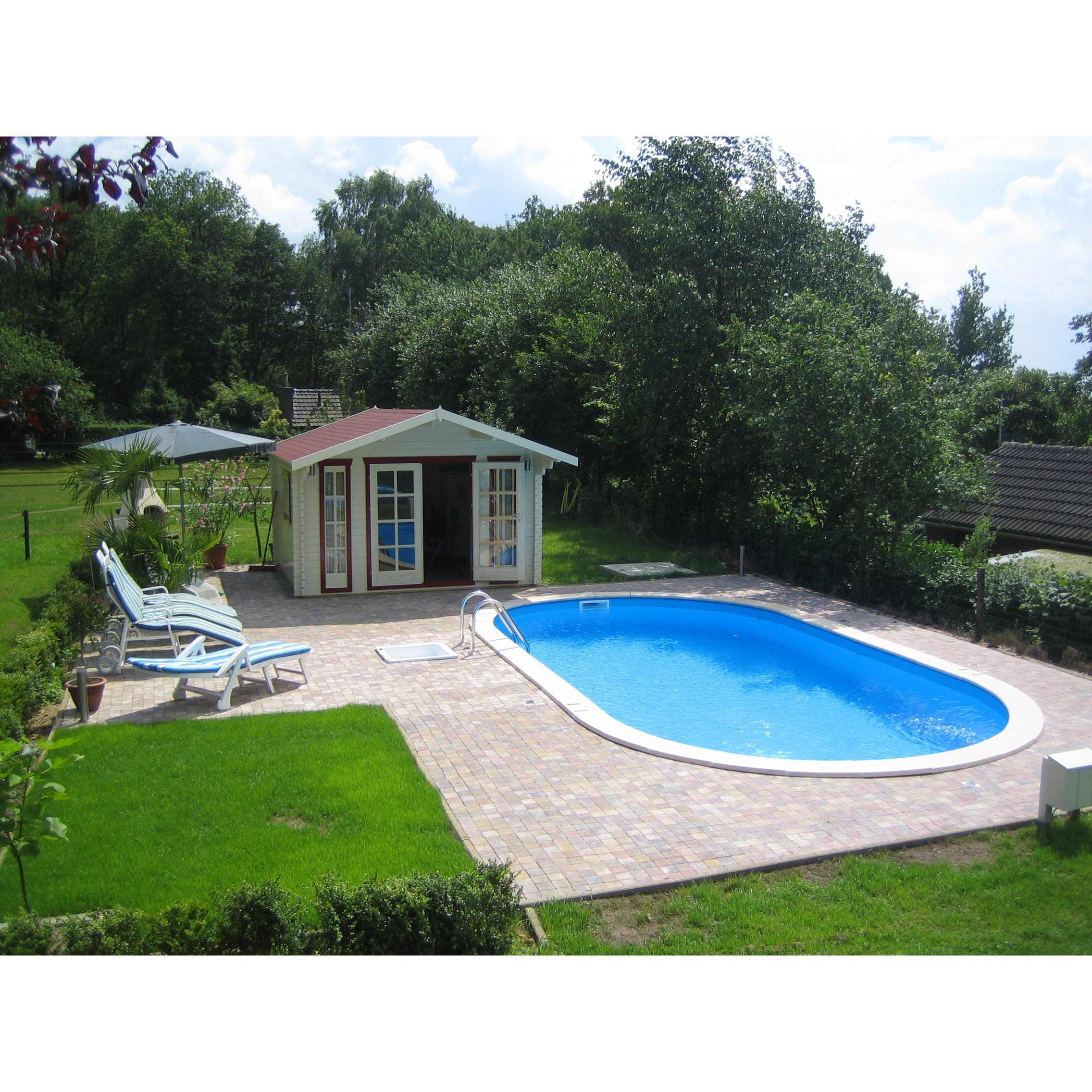 swim ovalpool 737 x 360 x 120 cm. Black Bedroom Furniture Sets. Home Design Ideas