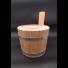 Saunakübel aus Lärchenholz