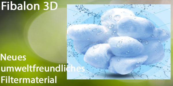Fibalon 3D - neues Filtermaterial