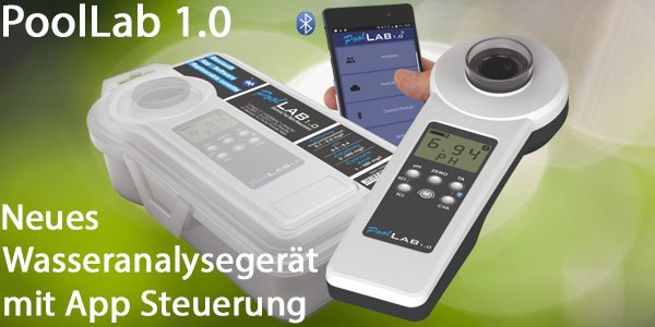 Wassertester PoolLab 1.0 - Photometer