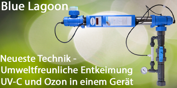 UV-C mit Ozon Entkeimungsanlage