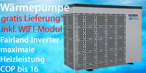 Fairland Wärmepumpe Inverter Plus