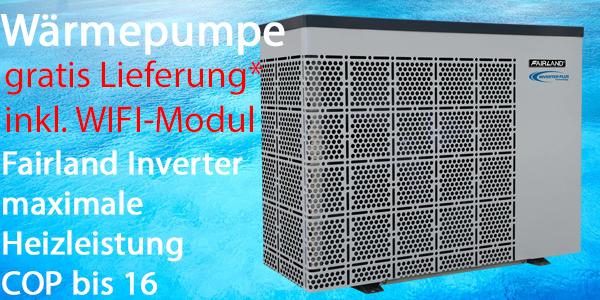Fairland Wärmepumpe Inverter Plus